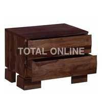 Unique Wooden Bedside Table