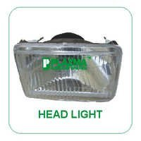 Head Light Green Tractor