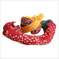 Bandhej Printed Turban
