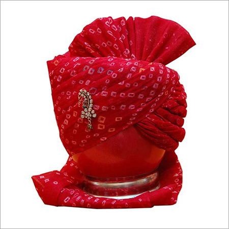 Red Turban Safa