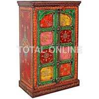 Magnificent Wooden Colorful Cabinet With Drawers