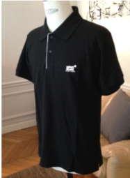 Polo T-Shirt In Black Colour
