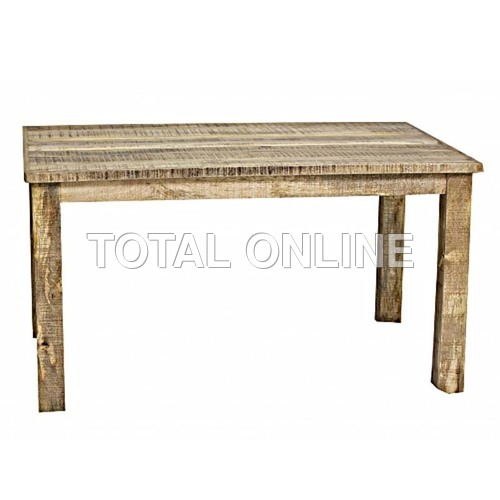 Antique look Rustic Ice Box Dining Table