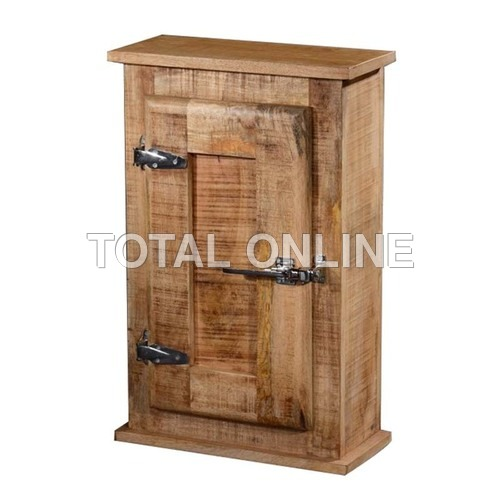 Antique look Rustic Ice Box Wall Cabinet with 1 Do