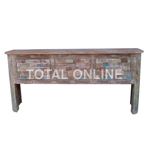 Contemporary Wooden Side Board