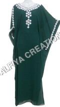 Emerald Green Farasha Kaftan