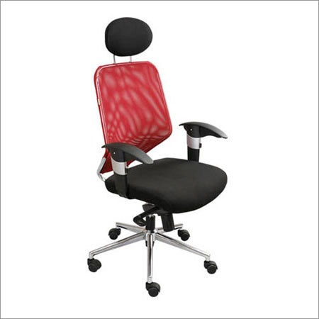 Revolving Net Back Chair