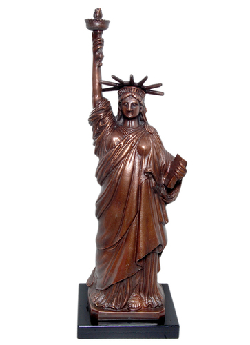 Statue of Liberty for Home Decor Aluminum Statue