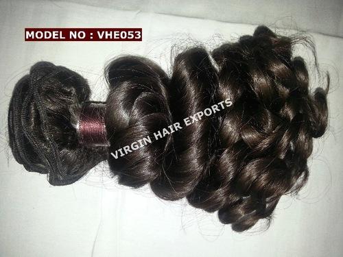 Virgin Wavy Short Length Hair Extension