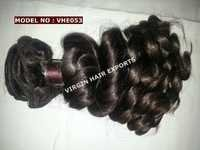 Virgin Wavy Short Length Hair Extension
