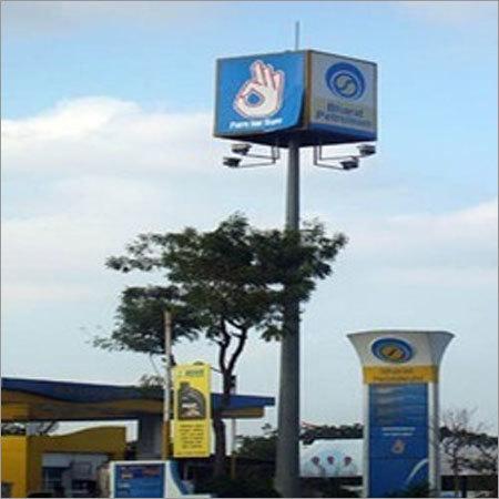 Signage High Mast Service