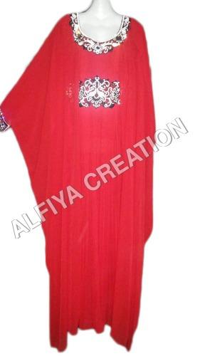 Long Sleeve Kaftan Dress