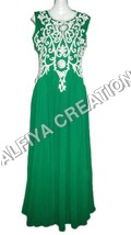 Heavy Stone Work Maxi Dress