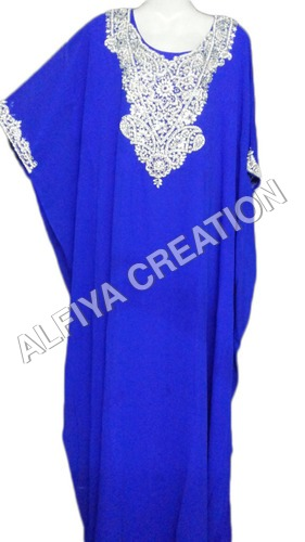 Wedding special royal blue farasha design