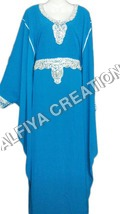 Round Neck Ladies Kaftan