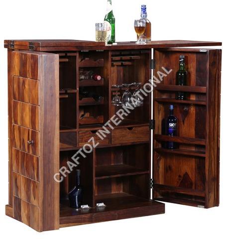 Mango Wood Bar Cabinet