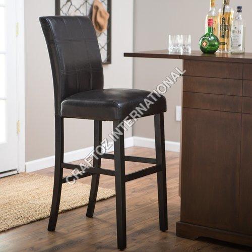 Mango Wood Bar Chair