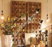 Mango Wood Bar Rack