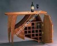 Wooden Bar Cabinet