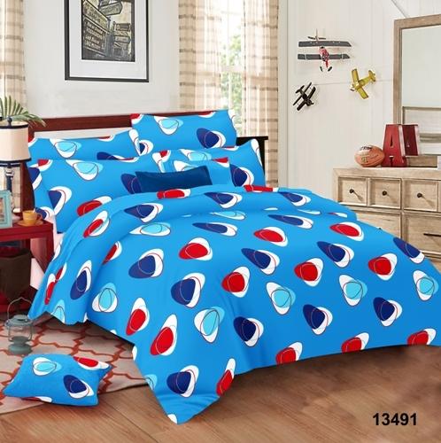 Satin stripes bed Sheets