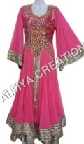 Exclusive moroccan takchita kaftan dress with fancy sleeves