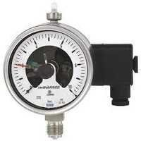 Switch Contacts Tube Pressure Gauge