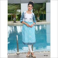 Digital Printed Ladies Kurti
