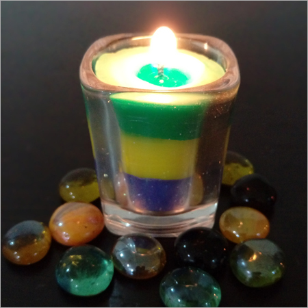 Glass Multilayer Candles
