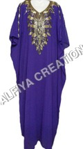 Bronz embroidery evening fancy wear farasha dress