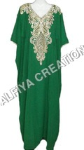 New and exclusive hand beaded farasha kaftan