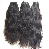 Natural Indian Single donor Wavy Human Hair bundles