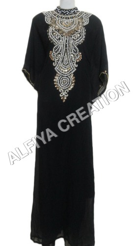 Hand Beaded Dubai Fancy Popular Farasha Kaftan