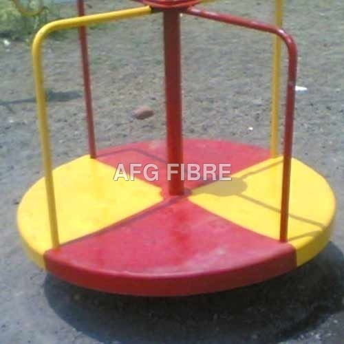 Yellow Red Merry Go Round
