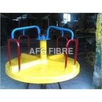 Circular Yellow Merry Go Round