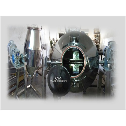 Powder Mixer Double Cone Blender