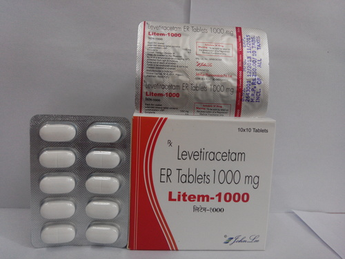 LEVETIRACETAM-1000MG Tablet