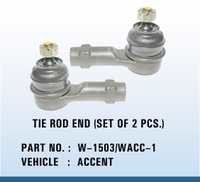 Accent tie rod end