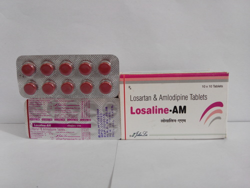Losarten Pottassium-50mg + Amlodipine 5mg