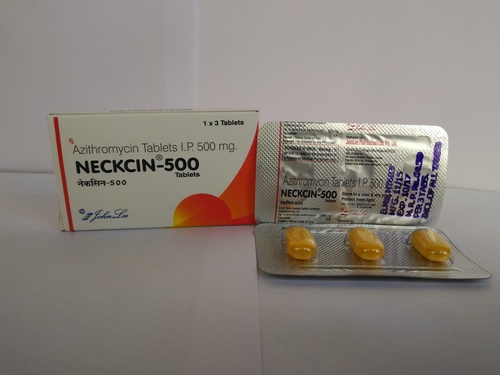 Azithromycin-500mg Tablet