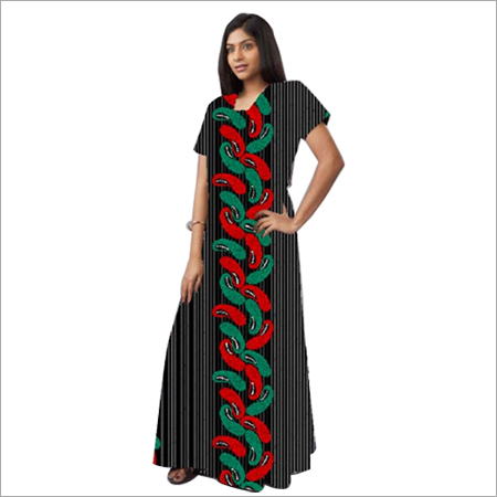 Long Ladies Cotton Nighty