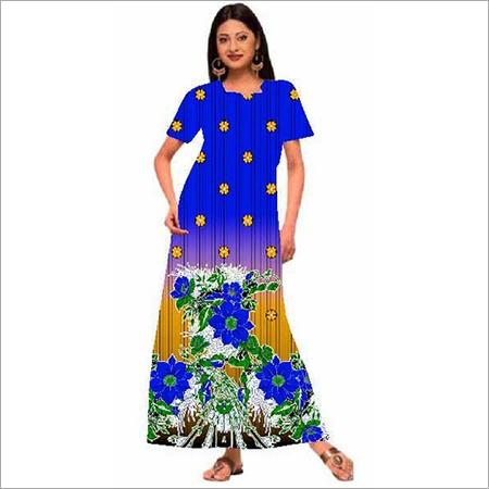 Designer Ladies Cotton Gown