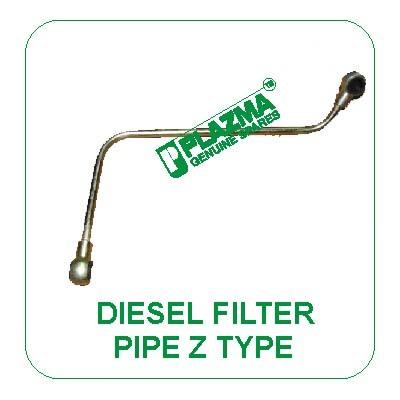Diesel Filter Pipe Z Type John Deere