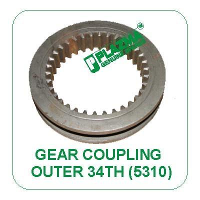 Gear Coupling 34 Th. Outer 5310 John Deere