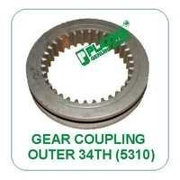 Gear Coupling 34 Th. Outer 5310 Green Tractors