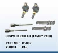 Car suspn repair kit (family pack)