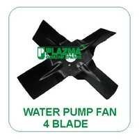 Water Pump Fan 4 Blade Green Tractors