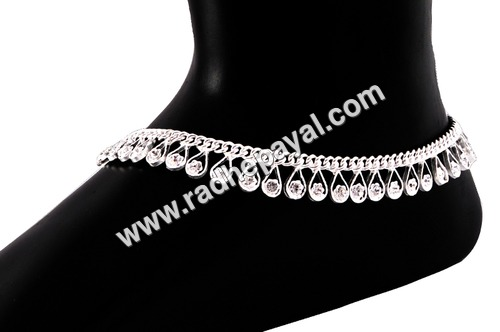 Baby Silver Anklets
