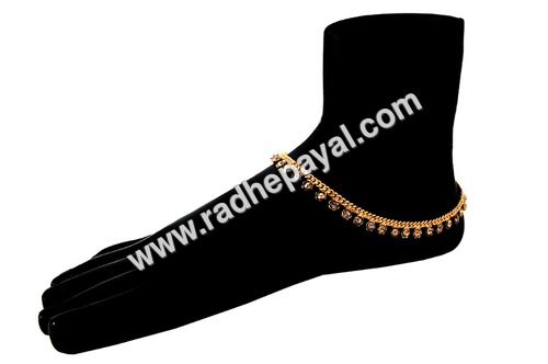Fancy Gold Plated Payal
