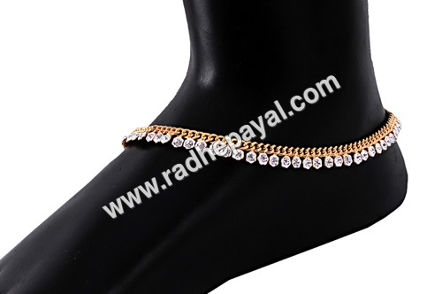 gold plated baby payal