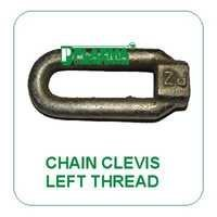 Chain Clevis Left Thread Green Tractors